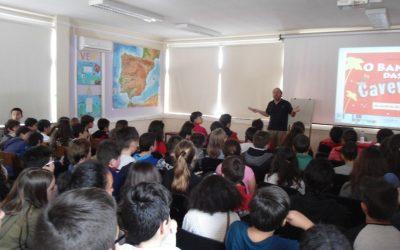 Nuno Carvela visitou o Agrupamento de Escolas de Marrazes