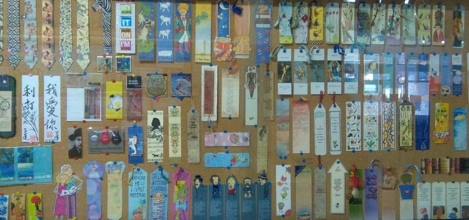 Exposição de marcadores na EB Santa Catarina da Serra