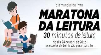 Dia Mundial do Livro – Maratona da Leitura nas escolas de Leiria, 24 de abril de 2017