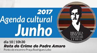 Agenda de junho | Biblioteca Municipal Afonso Lopes Vieira
