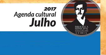 Agenda cultural de julho da Biblioteca Municipal Afonso Lopes Vieira