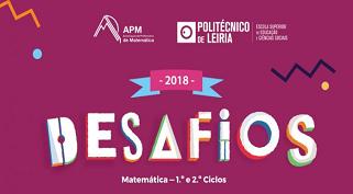 Desafios: matemática – 1.º e 2.º Ciclos | inscrições até 23 de fevereiro de 2018