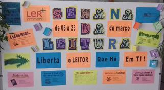 A Semana da Leitura no Colégio Dinis de Melo