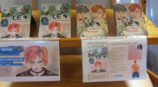 Autores em direto: Rosinda Arrimar na Biblioteca Escolar José Saraiva