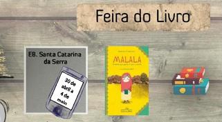 Feira do livro no Agrupamento de Escolas Caranguejeira – Sta Catarina da Serra