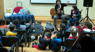 Daniel Completo visita o Agrupamento de Escolas Caranguejeira – Sta Catarina da Serra