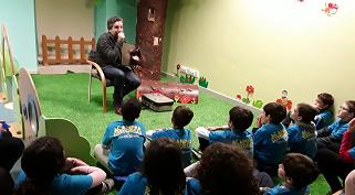 Acampar com Histórias regressou à Biblioteca Municipal Afonso Lopes Vieira