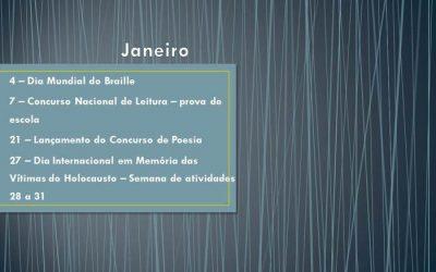 Agenda Janeiro