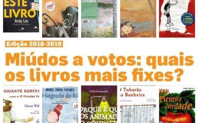 Miúdos a votos 2018 – Livros em campanha na EB1 da Gândara
