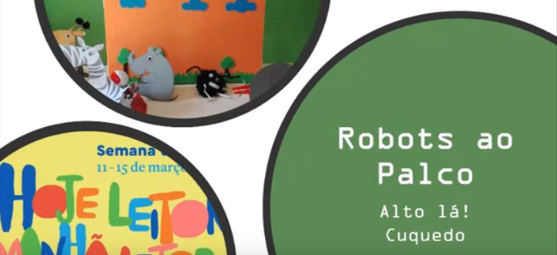 Robots ao palco