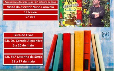Visita do Escritor Nuno Caravela e Feira do Livro