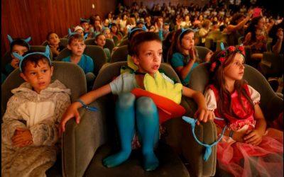 Escola Básica da Gândara dos Olivais na festa final de «Miúdos a votos: quais os livros mais fixes?»