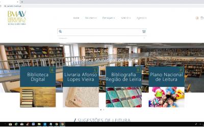 Conheça o novo Catálogo da Biblioteca Municipal Afonso Lopes Vieira