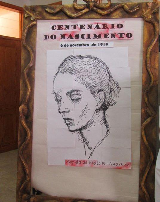 Comemoração do Centenário do nascimento de Sophia de Mello Breyner Andresen na EB 2,3 José Saraiva