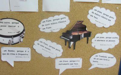 Vamos imaginar que somos um instrumento musical