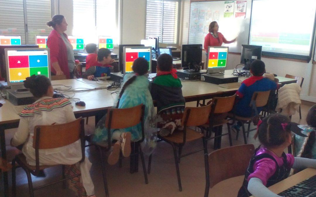 Carnaval 2020, com a Biblioteca Escolar (AERSI)