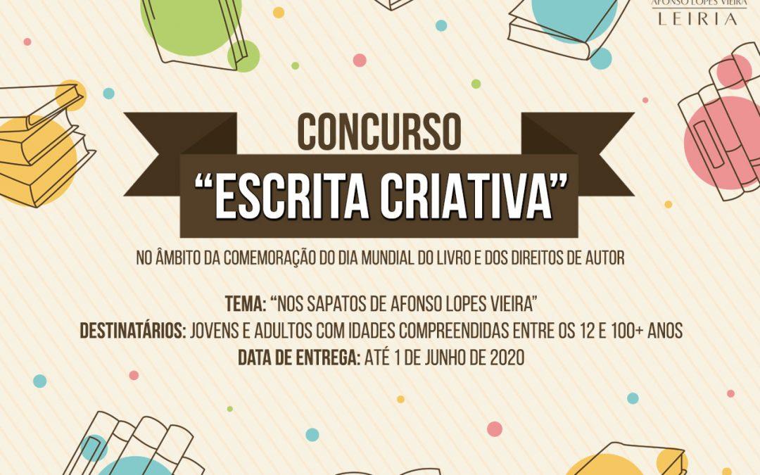 """Concurso """"Escrita Criativa"""""""