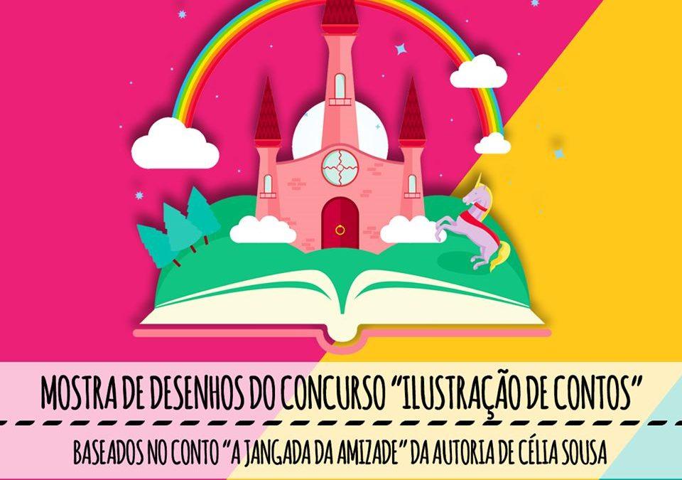 """Mostra de Desenhos do Concurso """"Ilustração de Contos"""""""