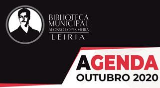 Agenda Cultural de outubro da Biblioteca Municipal Afonso Lopes Vieira