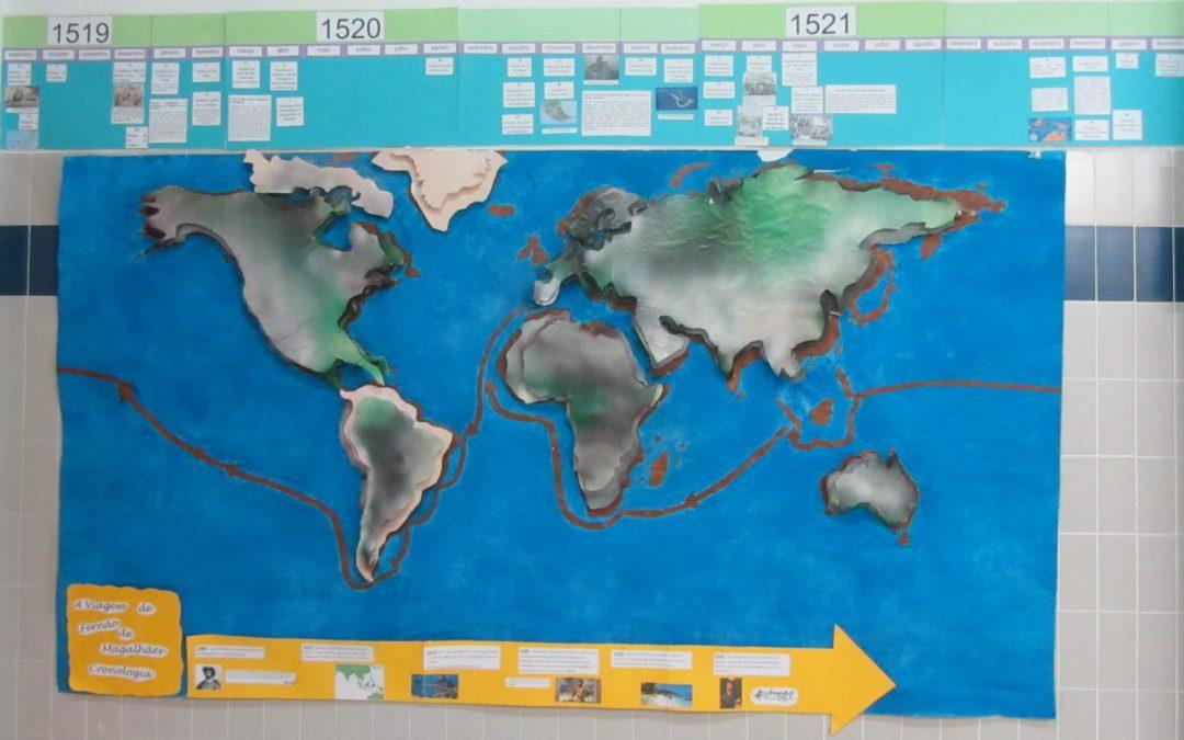 500 anos da viagem de circum-navegação