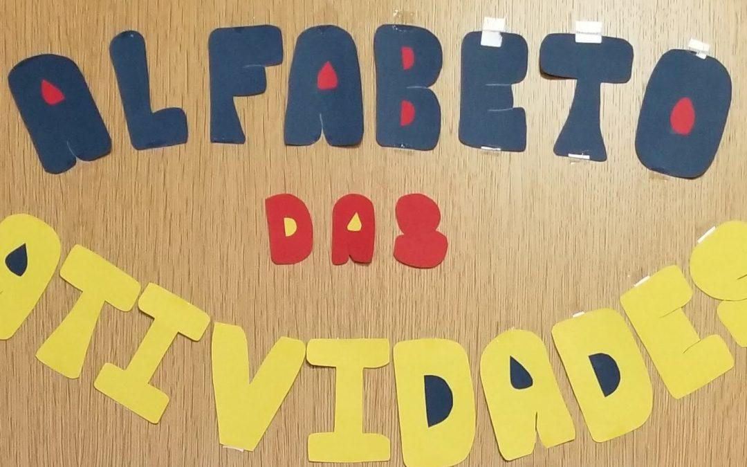 Alfabeto das Atividades