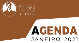 Agenda Cultural de janeiro da Biblioteca Municipal Afonso Lopes Vieira