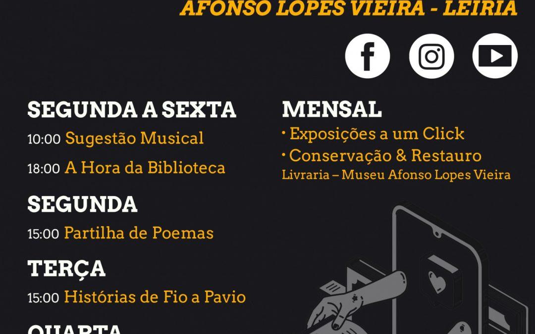 Oferta Online da Biblioteca Municipal Afonso Lopes Vieira