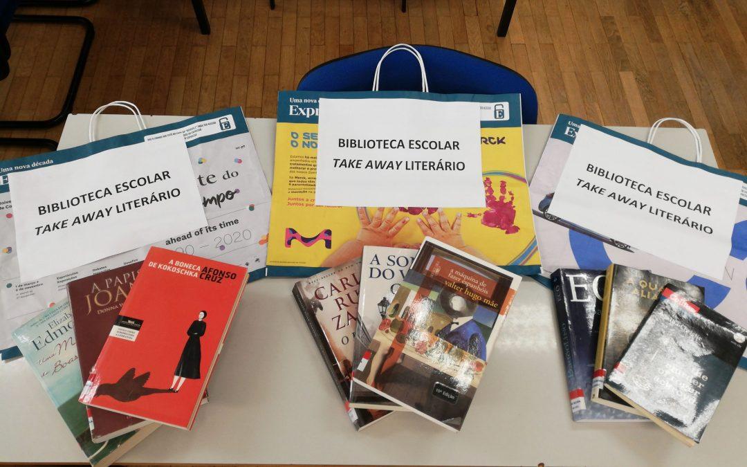 "Biblioteca Henrique Sommer implementa serviço ""Take away literário"""