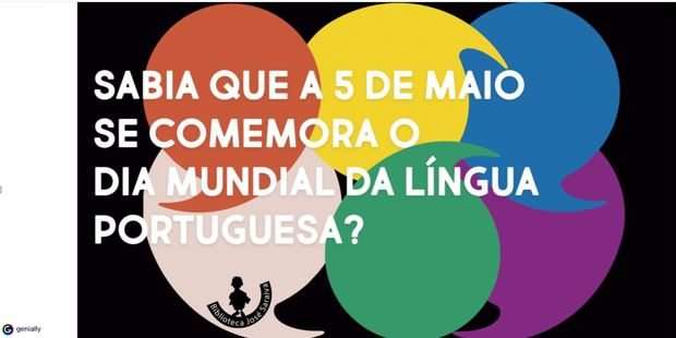 Biblioteca José Saraiva comemora Dia Mundial da Língua Portuguesa