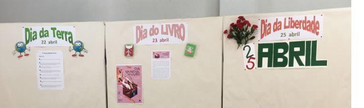 Biblioteca José Saraiva comemora os Dias da Terra, do Livro e da Liberdade