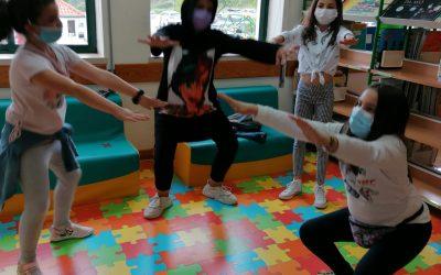 Dia da Criança e Mês da Atividade Física na BE de Colmeias (junho 2021)