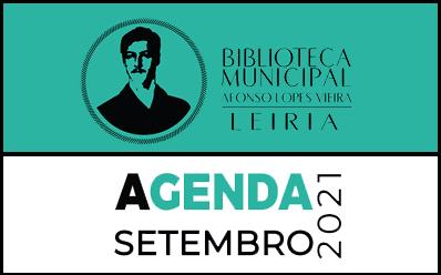 Agenda Cultural de setembro da Biblioteca Municipal Afonso Lopes Vieira