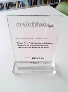 Brainideas 2.0 – Escola DECOJovem   Agrupamento de Escolas D. Dinis