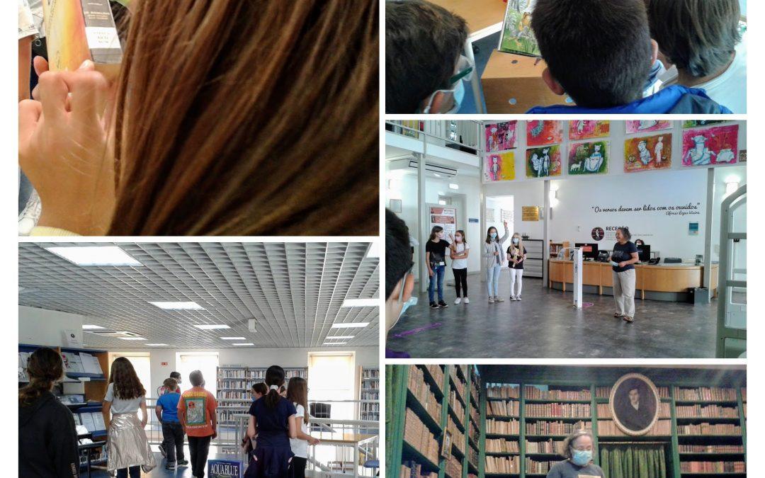 Visita de estudo à Biblioteca Municipal Afonso Lopes Vieira | AE D. Dinis | MIBE 2021